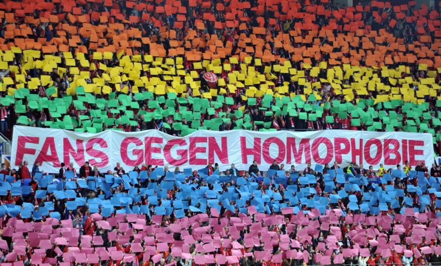 Aktion der 2013 der Fans in Mainz